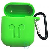 Футляр для наушников Airpod Full Case зеленый