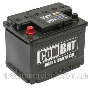Акумулятор автомобільний SADA COMBAT 60AH R+ 510A