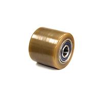 80х70 ролики подвилочные для гидравлических тележек из полиуретана