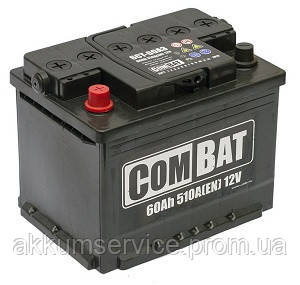 Аккумулятор автомобильный SADA COMBAT 60AH L+ 510A