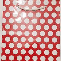 Пакет подарочный бумажный большой вертикальный 25х39х9 (27-144)