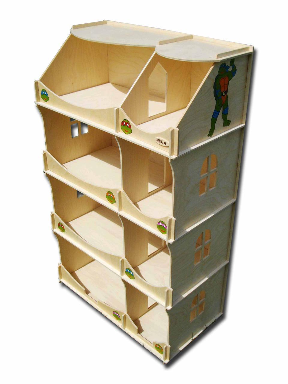 Домик-шкаф HEGA Черепашки-Ниндзя для мальчиков