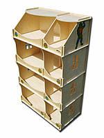 Домик-шкаф HEGA Черепашки-Ниндзя для мальчиков, фото 1