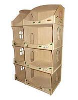 Кукольный домик-шкаф HEGA с росписью, фото 1