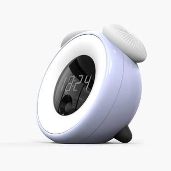Детский ночник-часы Синий Berni