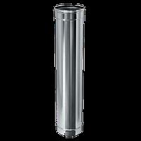 Труба дымоходная с  нержавейки ø180 мм 1 мм - толщина L=1м