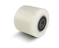 70х60 Ролики подвилочные для гидравлических тележек из полиамида-6 (с подшипниками)