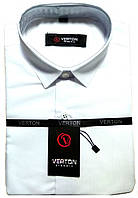 "Рубашка с коротким рукавом, тенниска белая (воротник 31/рост 134), ""Verton"" Турция"