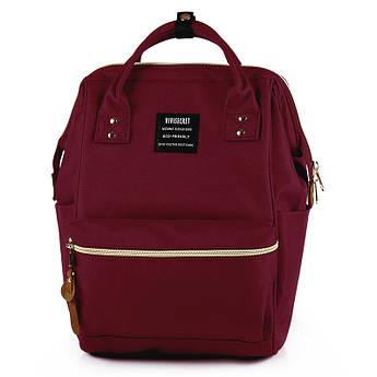 Сумка - рюкзак для мамы Бордовый ViViSECRET