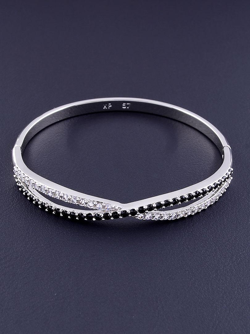 Браслет xuping jewelry: Фианит 17 см. (родий)