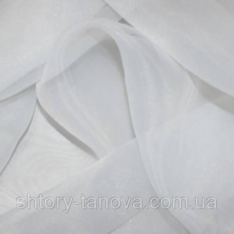 Органза матовая белый