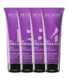 Уход за волосами с кератином REVLON Be Fabulous Hair Recovery