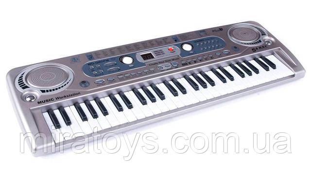 Пианино-синтезатор с микрофоном и радио MQ 020 FM купить