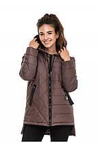 Куртка женская осень-весна Стелла мокко (44-56)
