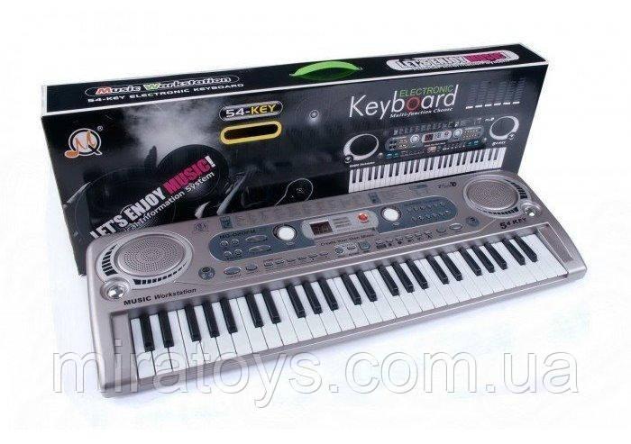 ✅Пианино-синтезатор с микрофоном и радио MQ 020 FM
