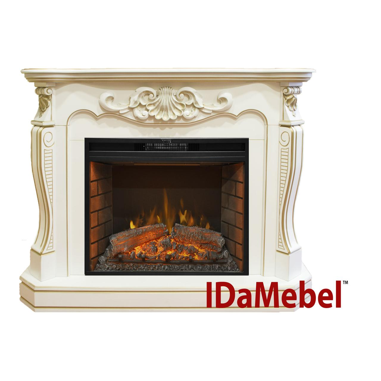 Камин портал для электрокамина ROYAL FLAME IdaMebel Laura (для Goodfire 26)
