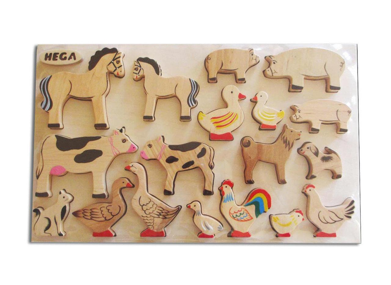 Набор рамка-вкладыш HEGA Домашние животные