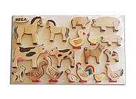 Набор рамка-вкладыш HEGA Домашние животные, фото 1