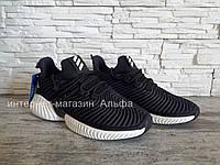 Мужские кроссовки в стиле Adidas Alphabounce Instinct, черные   43, 44