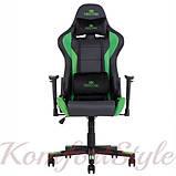 Кресло геймерскоеHexter (Хекстер) ML черный/зеленый, фото 2