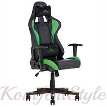 Кресло геймерскоеHexter (Хекстер) ML черный/зеленый
