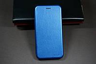 Чехол книжка для Xiaomi Redmi Note 7 Ксиоми Сяоми Ноут Ноте цвет синий