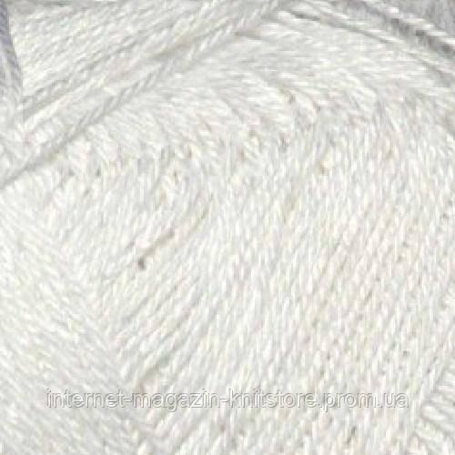 Пряжа Сеам Анна 14 Белый