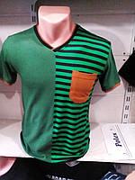 Мужская футболка в полоску