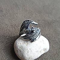 """Серебряное кольцо """"Дракон"""""""