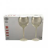 Набор бокалов для вина Эдем 210мл. 3шт.