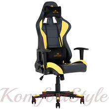 Кресло геймерское Hexter (Хекстер) ML черный/желтый