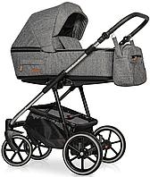 Дитяча універсальна коляска 2 в 1 Riko Swift Premium 12 Titanium, фото 1