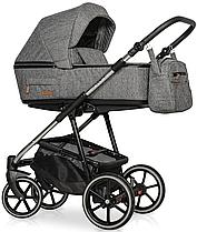 Дитяча універсальна коляска 2 в 1 Riko Swift Premium 12 Titanium