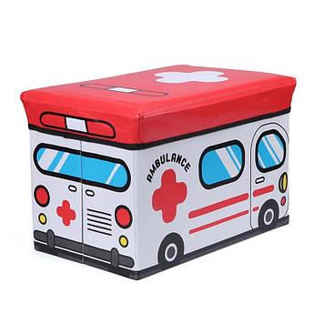 Пуф-ящик для игрушек Cкорая помощь Berni