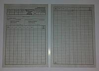 Лимитно-заборная карта на получение ГСМ, Ф-117а