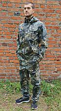 """Камуфляжный костюм """"Лесная чаща""""с капюшоном, охота рыбалка, фото 2"""
