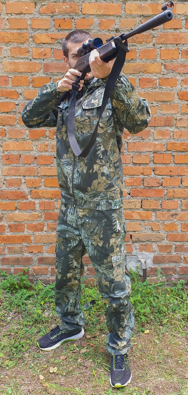 """Камуфляжный костюм """"Лесная чаща""""с капюшоном, охота рыбалка"""