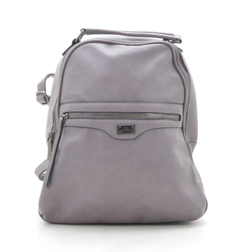 Рюкзак женский серый 184907