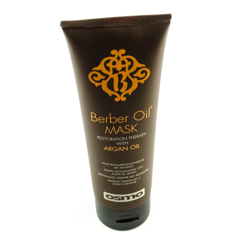 Зміцнююча Маска з аргановою олією для сухого пошкодженого волосся Osmo Berber oil restoration mask 250мл 61091