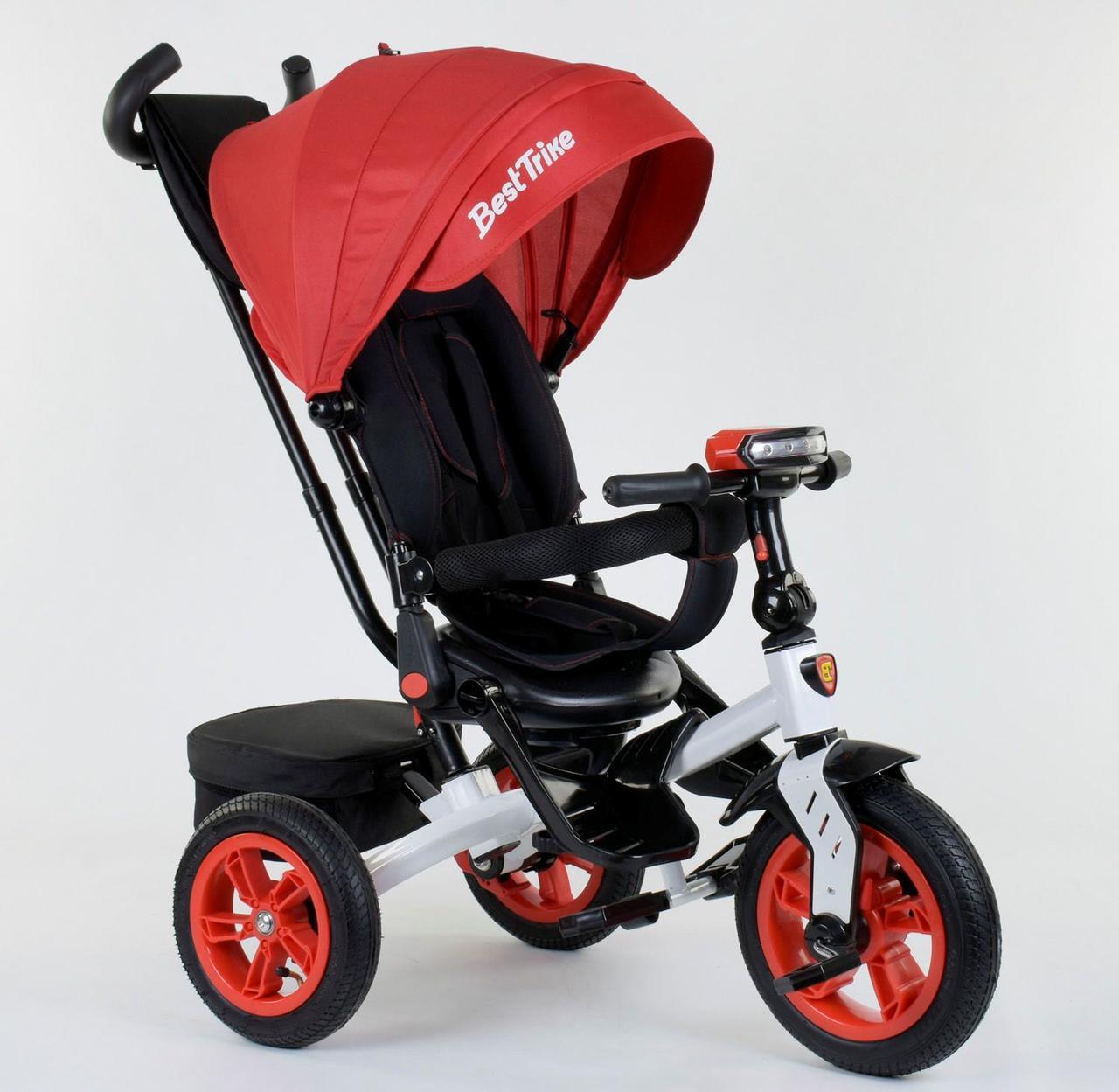 Велосипед 3-х колёсный 9500 - 7750 Best Trike Красный 76988