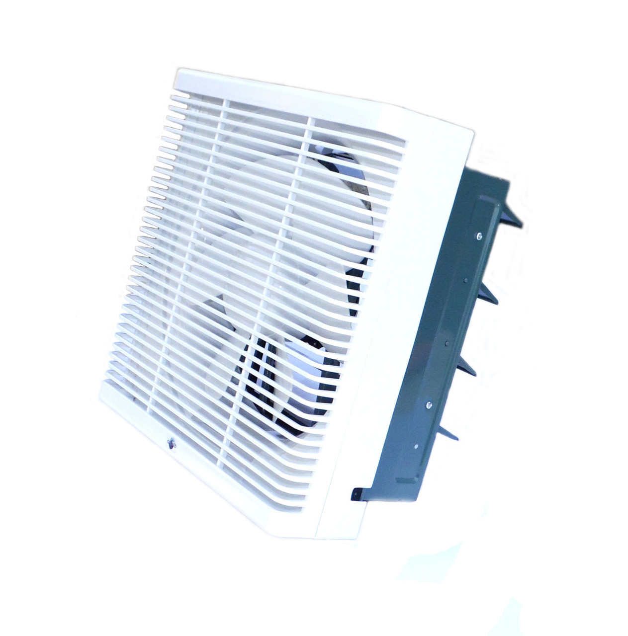 Осьовий реверсивний віконний (форточный) вентилятор Турбовент ОВР 250