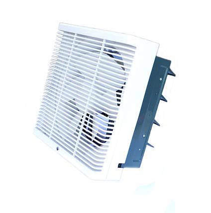 Осьовий реверсивний віконний (форточный) вентилятор Турбовент ОВР 250, фото 2