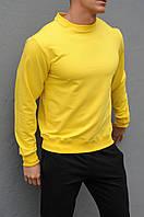 Желтый мужской свитшот / Свитшоты весна-осень