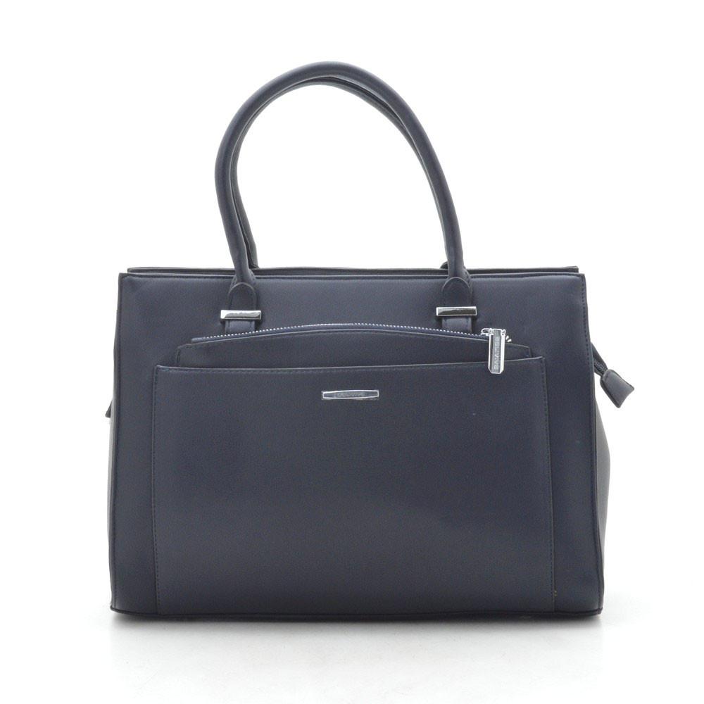 Женская сумка темно синяя 184066
