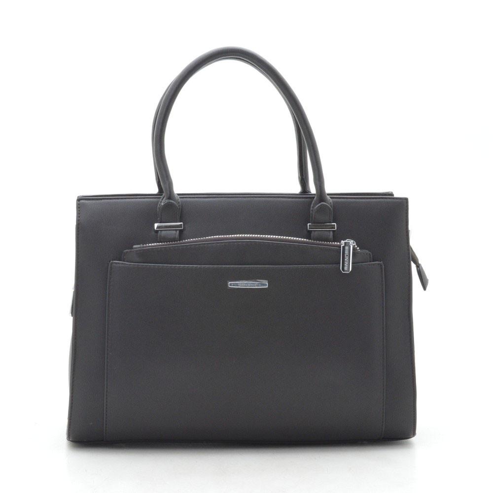 Женская сумка темно коричневая 184069
