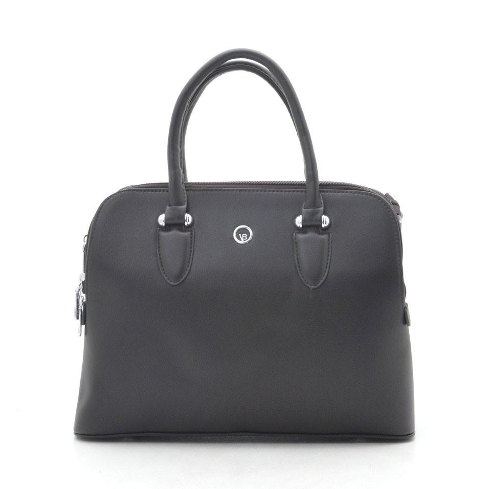 Женская сумка темно коричневая 184194
