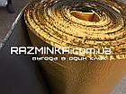 Золотой Изолон ППЭ 2мм с черным основанием (15 кв.м), фото 3