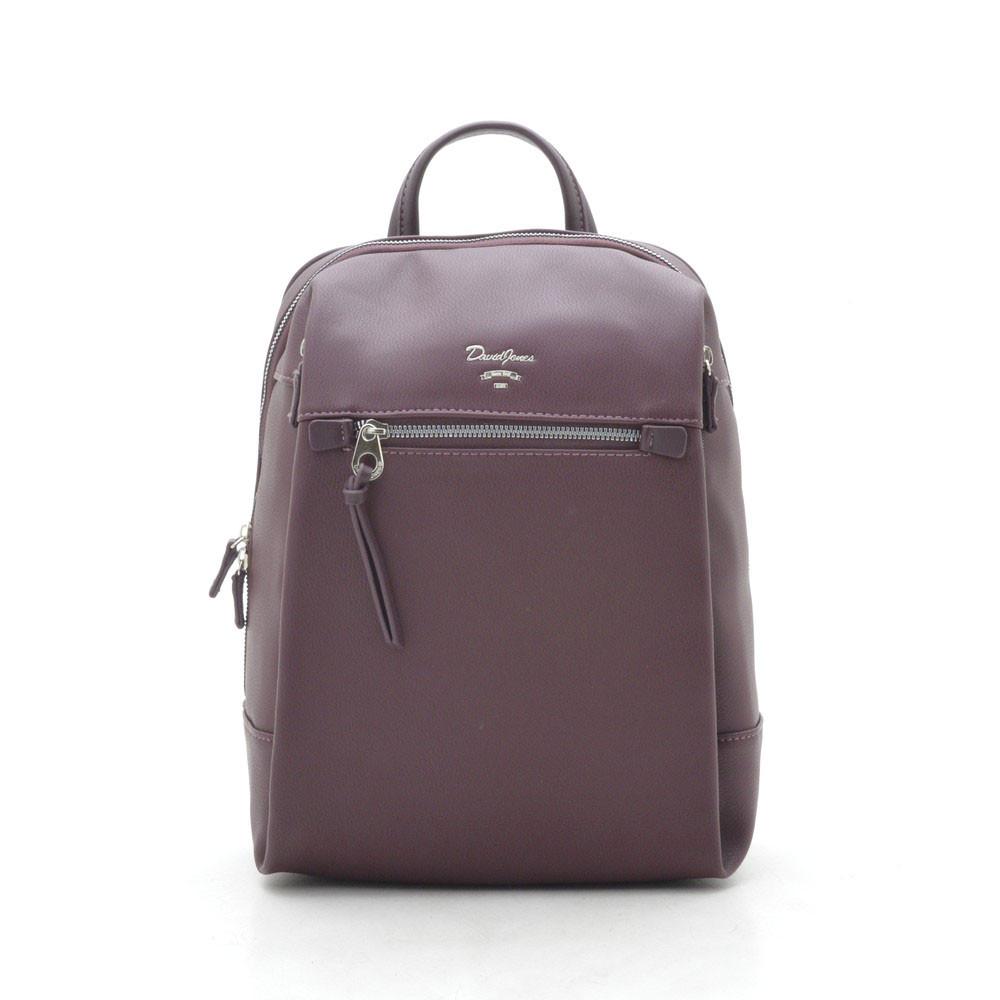 Рюкзак женский  David Jones темно бордовый 184022