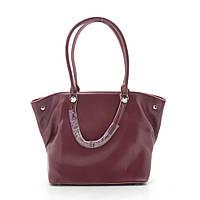 Женская сумка темно красная 185421