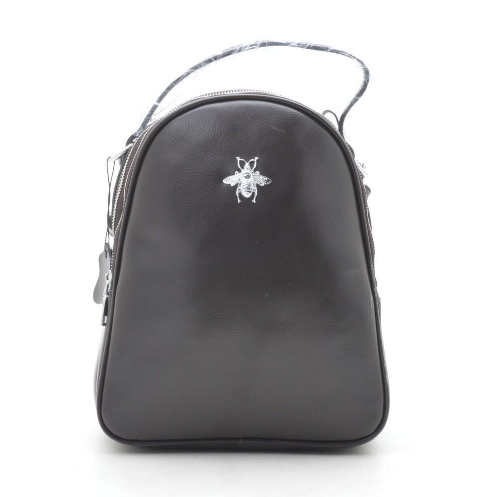 Рюкзак женский кожаный кофейный 185399